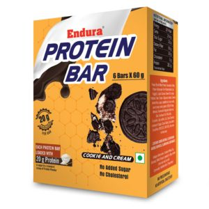 Endura Protein Bar-Cookie and Cream-1