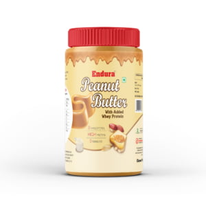ENDURA PEANUT BUTTER WITH ADDED WHEY FRONT