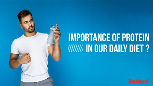 IMPORTANCE OF PROTEIN IN OUR DAILY DIET
